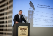 Pokaż powiększenie powyżej: Obchody 73. rocznicy likwidacji obozu na Majdanku