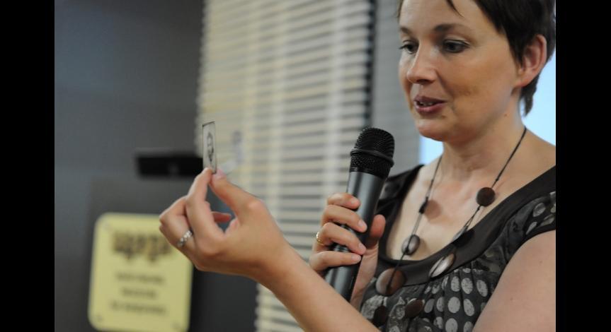 Powiększ obraz: Spotkanie poświęcone szpitalom obozowym na Majdanku