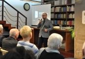 """Pokaż powiększenie powyżej: Promocja książki """"Majdanek w dokumentach"""""""
