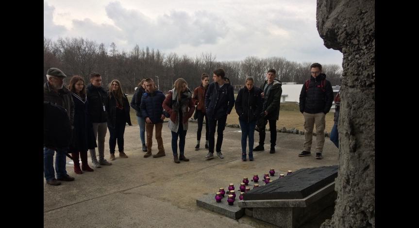 Powiększ obraz: Warsztaty historyczne dla niemieckich wolontariuszy z Bodelshausen