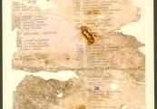 Pokaż powiększenie powyżej: Pierwsza karta z ostatniej listy transportowej z Majdanka