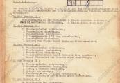Pokaż powiększenie powyżej: Pierwsza strona niemieckiego raportu sporządzonego po nalocie z 11 maja 1944 r.