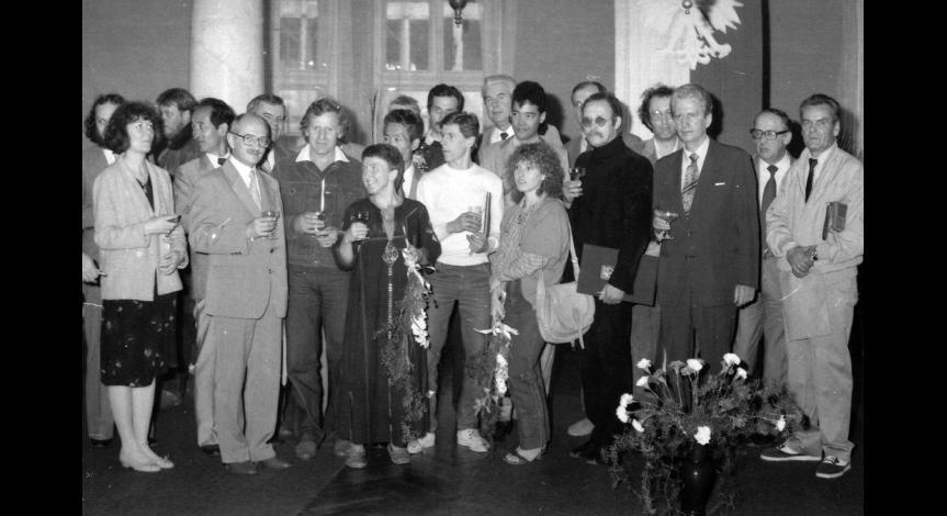 Zoom image: I Międzynarodowe Triennale Sztuki, 9 maja 1985