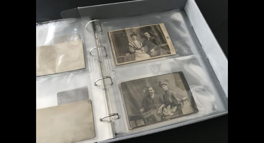 Zoom image: The photographs after the conservation