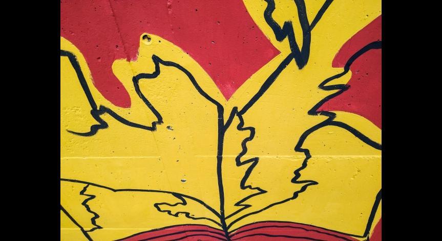 Powiększ obraz: Mural odsłonięty
