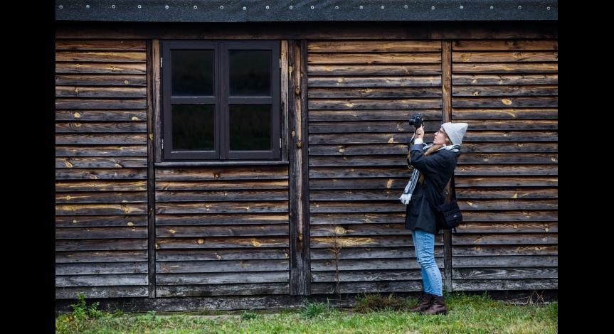 Powiększ obraz: Fotografowie w Muzeum