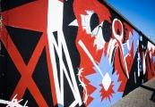 Pokaż powiększenie powyżej: Mural odsłonięty