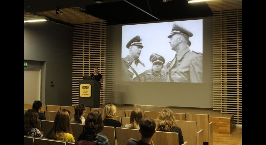 Powiększ obraz: Wykłady dla studentów Turystyki i rekreacji