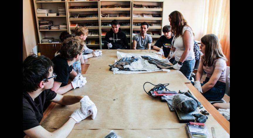 Powiększ obraz: Workcamp w Muzeum