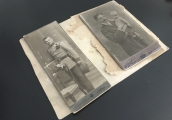 Show larger image above: The photographs during the process of conservation