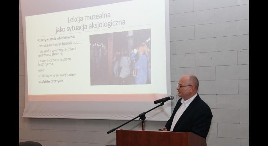 """Powiększ obraz: II Seminarium """"Historia-Eduklacja-Pamięć"""" w Muzeum-Miejscu Pamięci w Bełżcu"""