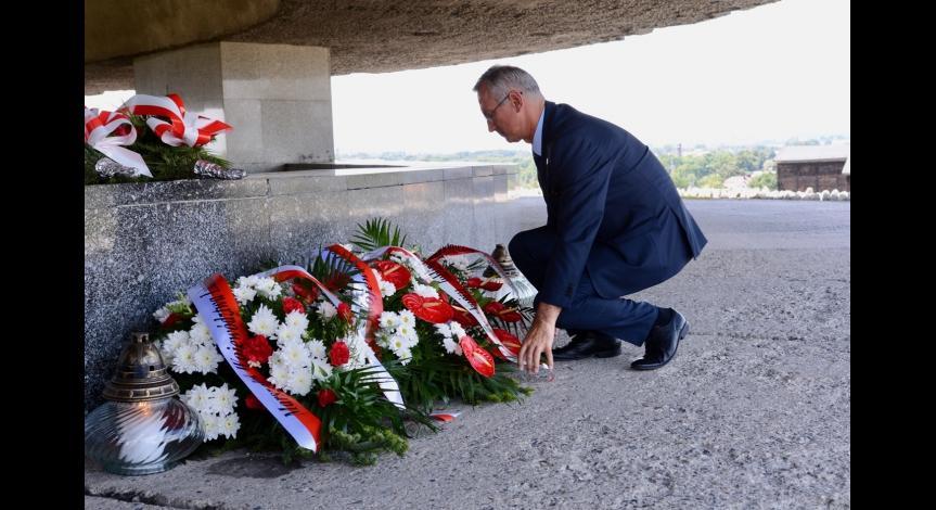 Powiększ obraz: 74. rocznica likwidacji KL Lublin