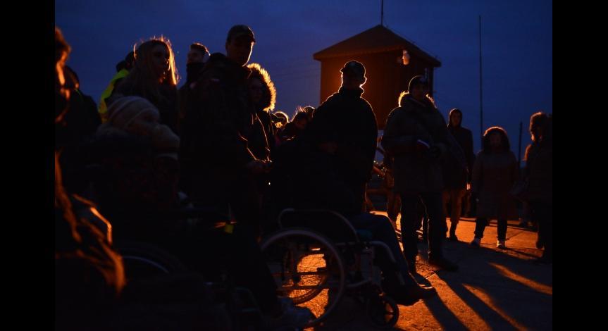 Powiększ obraz: Droga krzyżowa na Majdanku