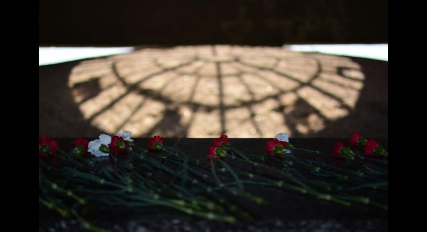 Powiększ obraz:  72. rocznica likwidacji obozu na Majdanku