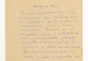 Pokaż powiększenie powyżej: List od Heleny Pawłowskiej do Saturniny Malmowej wysłany przed przyjazdem Heleny do Lublina, cz. 1