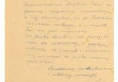Pokaż powiększenie powyżej: List od Heleny Pawłowskiej do Saturniny Malmowej wysłany przed przyjazdem Heleny do Lublina, cz. 2