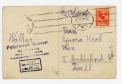 Pokaż powiększenie powyżej: Fot.18. Karta wysłana z okazji Dnia Matki do Emmy Kral przez Waltera Krala, 12 maja 1934 r.