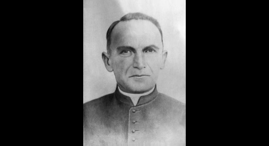 Zoom image: Fr. Emilian Kowcz - blessed priest from Majdanek