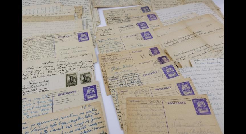 Powiększ obraz: Listy Zofii Perzanowskiej do rodziny z lat 1943-1944