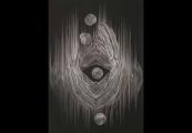 Pokaż powiększenie powyżej: Masataka Kuroyanagi, Form work 9, mezzotinta, 1999