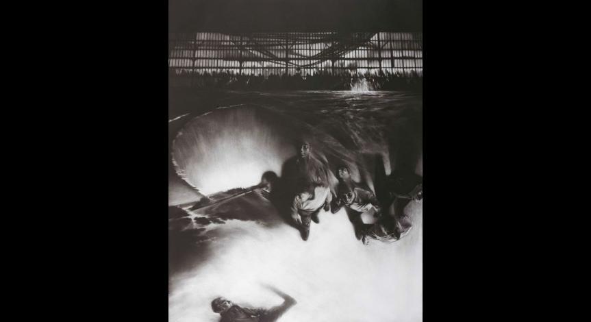 Powiększ obraz: Maurice Pasternak, Horizontal 10, mezzotinta, 1993