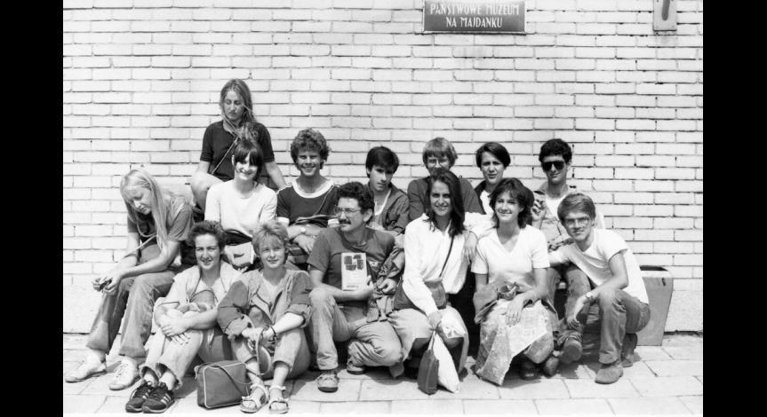 Zoom image: Międzynarodowa grupa Ochotniczych Hufców Pracy, 9 sierpnia 1984