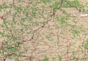 Pokaż powiększenie powyżej: Ostatni transport, mapa Ostrowiec