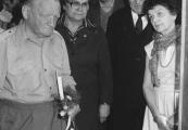 """Show larger image above: Otwarcie wystawy """"Pamiątki poobozowe"""", 24 kwietnia 1986"""