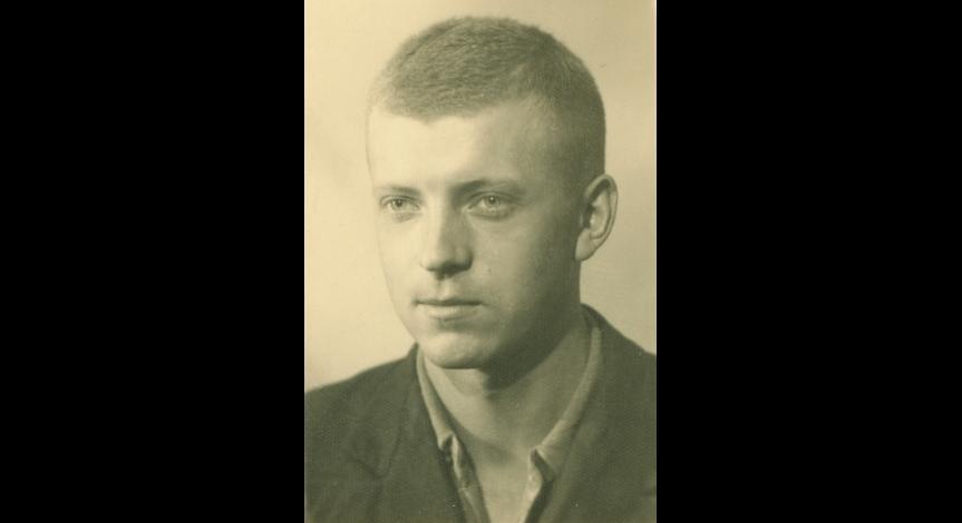 Mieczysław Panz  - członek komanda Fahrbereitschaft