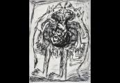 Pokaż powiększenie powyżej: Peter Zeiler, Krieg, sucha igła, 1992
