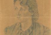 Pokaż powiększenie powyżej: Rysunek wykonany przez Jadwigę Fiedorową, przekazany do Muzeum