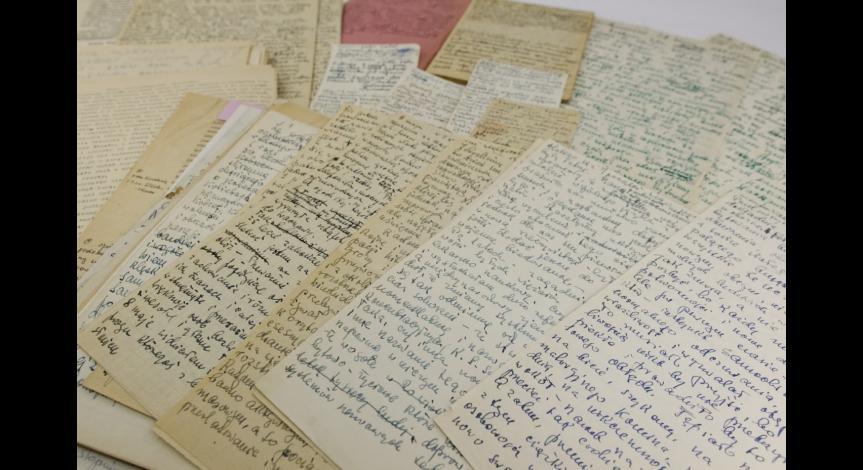 Powiększ obraz: Rękopisy artykułów i wystąpień Stefanii Perzanowskiej