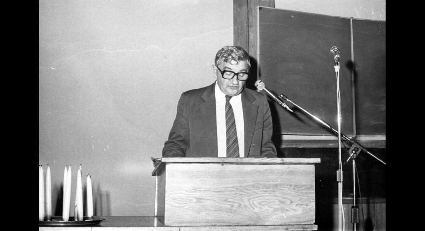Zoom image: Sesja poświęcona eksterminacji Żydów, 3 listopada 1983