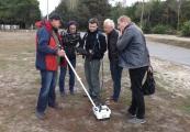 Pokaż powiększenie powyżej: Zespół badawczy w Sobiborze