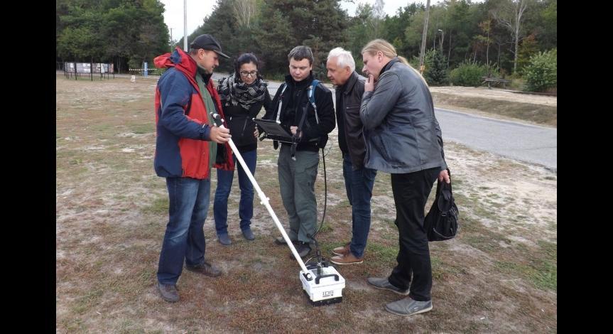 Powiększ obraz: Zespół badawczy w Sobiborze