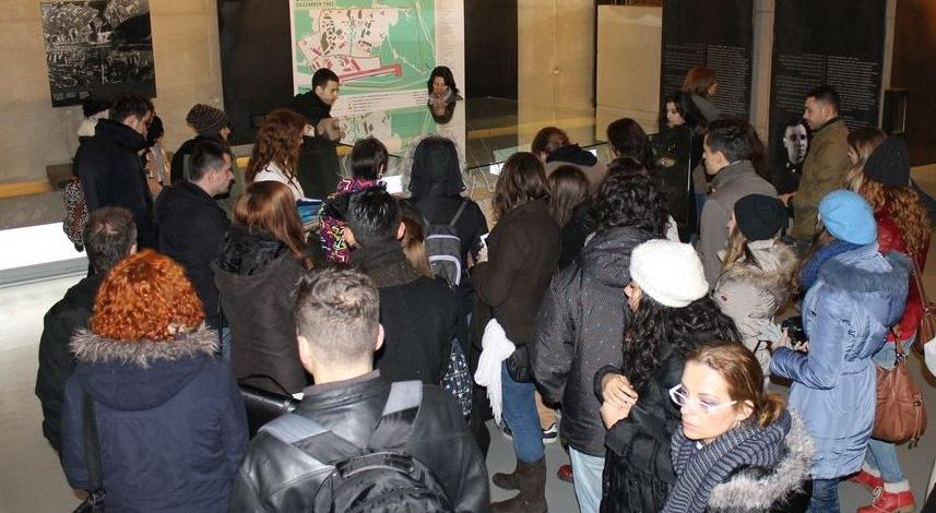 Powiększ obraz: Młodzież z siedmiu krajów spotkała się w Bełżcu