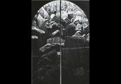 Pokaż powiększenie powyżej:  Stanisław Bałdyga, Ślady II, linoryt, 1989