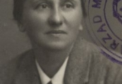 Show larger image above: Stefania Perzanowska, 1945