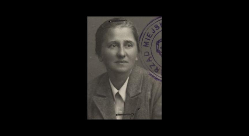 Zoom image: Stefania Perzanowska, 1945