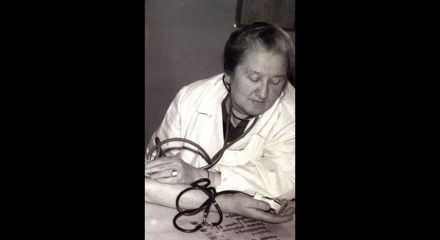 Powiększ obraz: Stefania Perzanowska, lata 60-te XX wieku