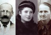 Pokaż powiększenie powyżej: Urszula Tochman z rodzicami