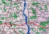 Pokaż powiększenie powyżej: Trasa Kraśnik - Ostrowiec