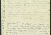 Pokaż powiększenie powyżej: Fot.10. List Waltera Krala do Emmy i Moritza z 17 listopada 1941 r.