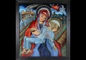 Pokaż powiększenie powyżej: Walczak Zdzisław, Pieta obozowa