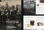 """Pokaż powiększenie powyżej: Niemiecko-francuski katalog do wystawy poświęconej """"Akcji Reinhardt"""""""