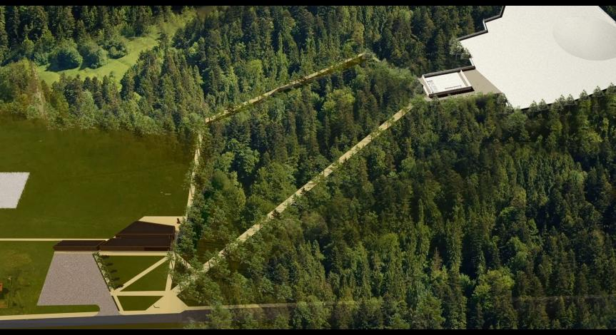 Powiększ obraz: Miejsce Pamięci w Sobiborze - wizualizacje