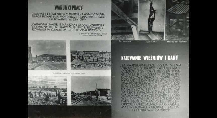 "Zoom image: The touring exhibition ""Majdanek Accuses and Warns"""