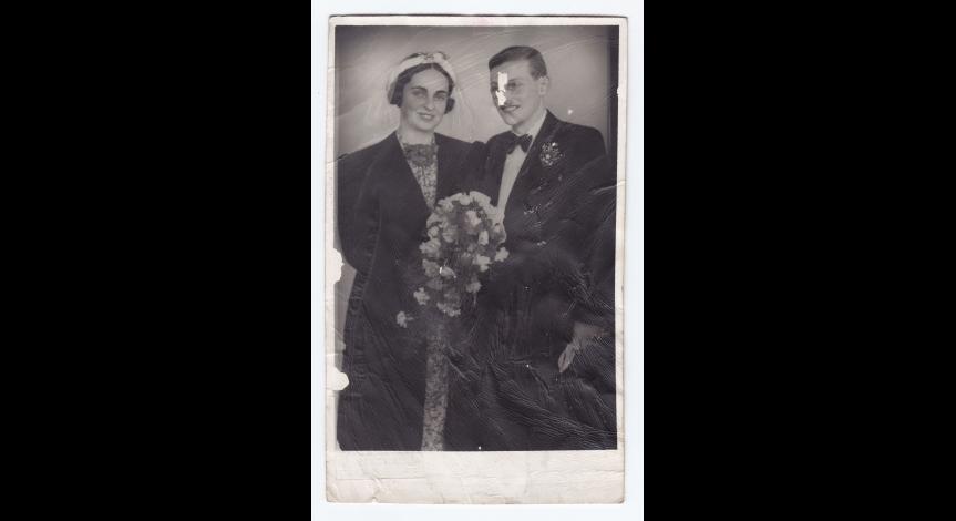 Fot. 5. Gertrud i Kurt Felsenburgowie, 1938 r.