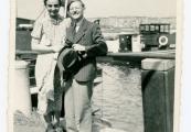 Pokaż powiększenie powyżej: Fot. 6. Gertrud i Kurt Felsenburgowie, Amsterdam, czerwiec 1939 r.
